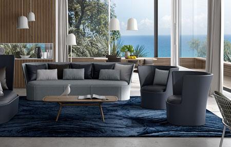 natuzzi caen fauteuils lits tapis tables basses. Black Bedroom Furniture Sets. Home Design Ideas